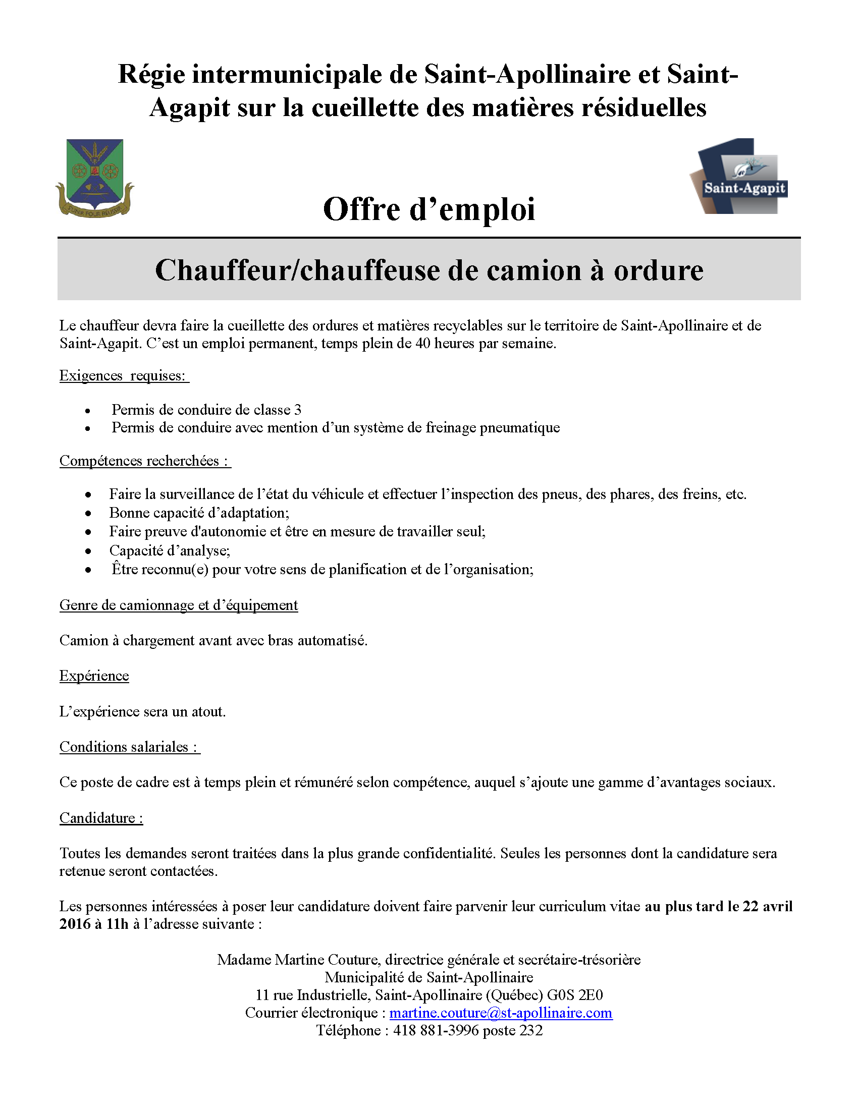emplois de chauffeur de camion local en arkansas